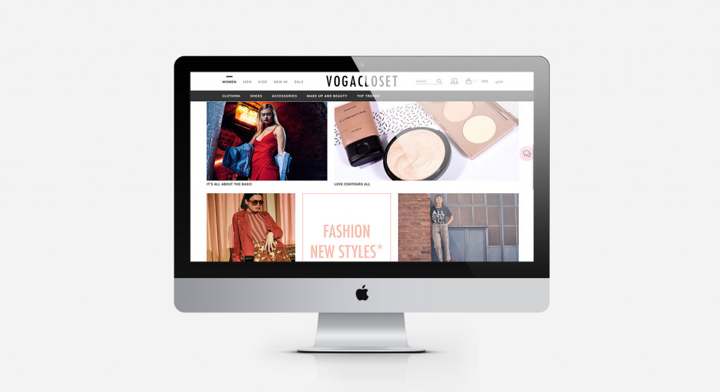 Voga Closet is a premium e-commerce destination for the shoppers of the Middle East