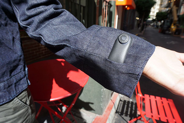 Levis Wearable Jacket with GPS