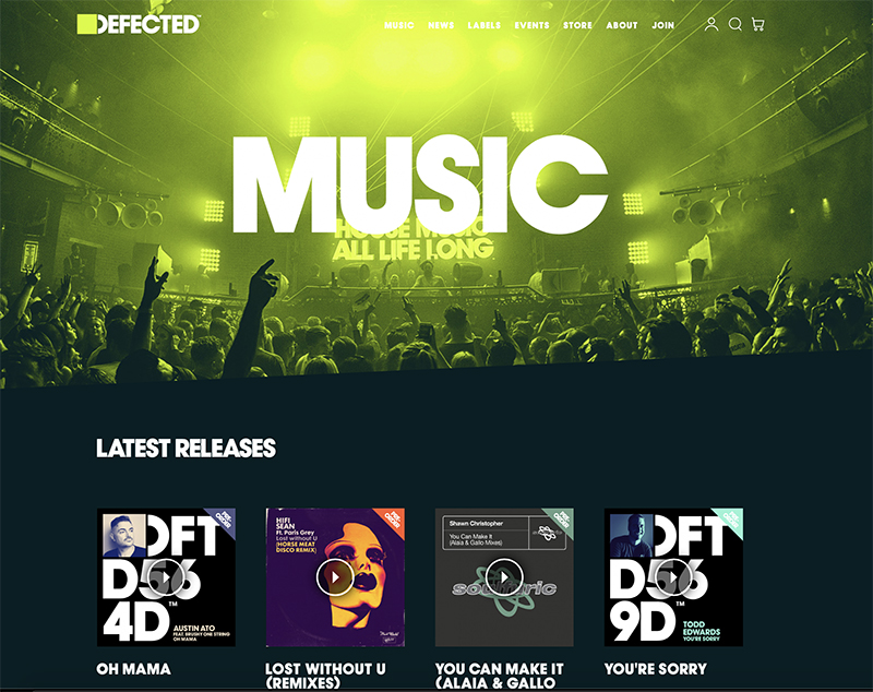 Defected Records - Music