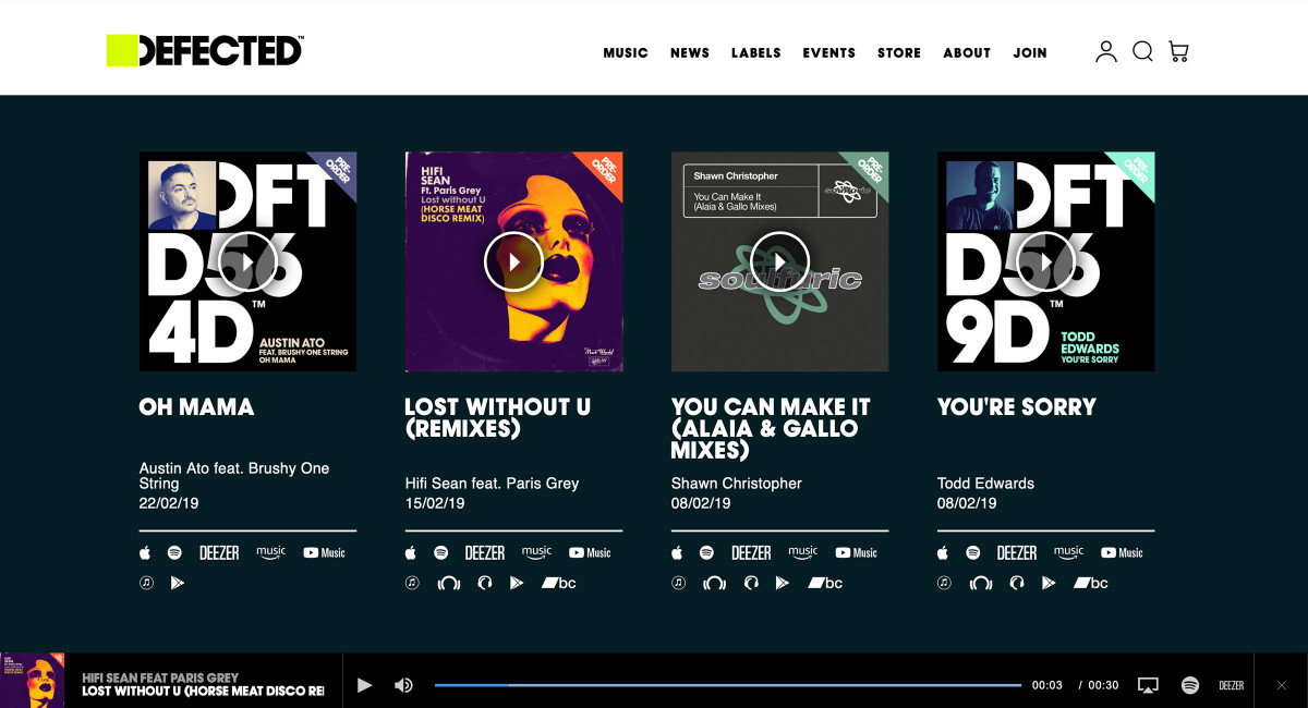 Defected Records: A successful collaboration