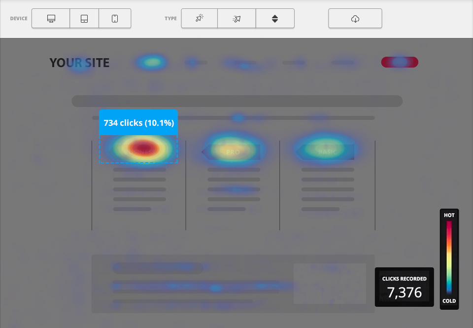 Heatmap-eCommerce-Website