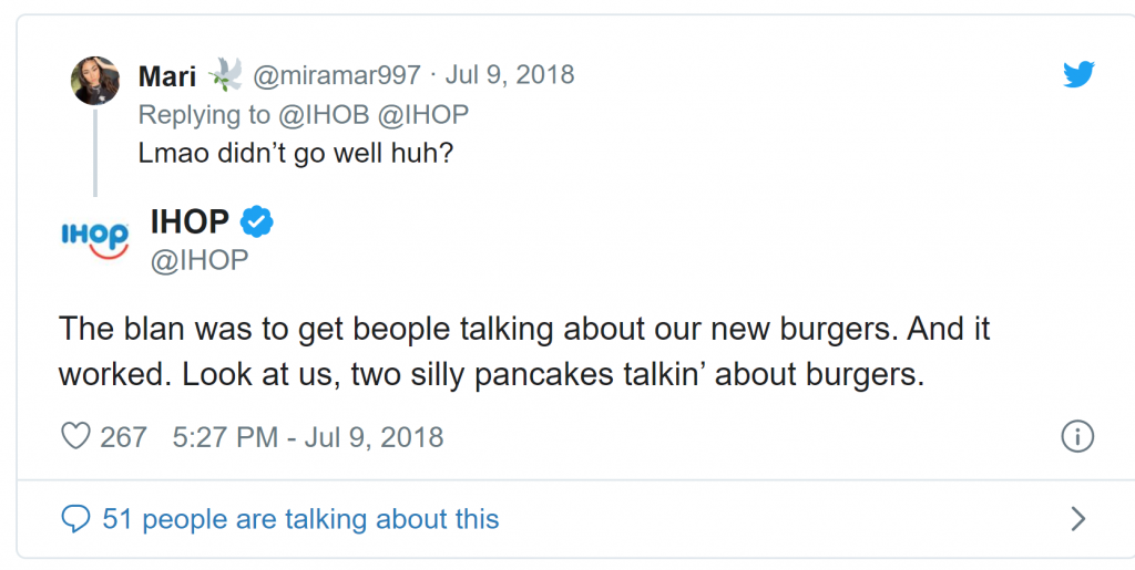 IHOP Crisis Management