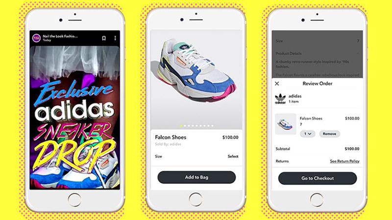Adidas Snapchat Ad