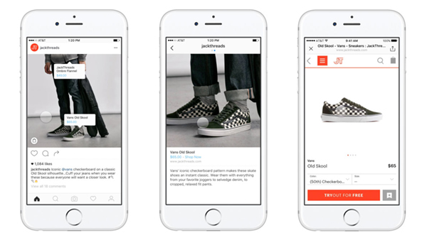 Shoppable Posts Instagram