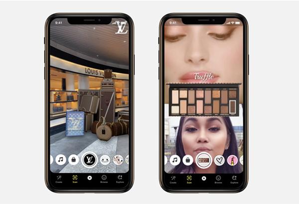 Louis Vuitton Snapchat Lens