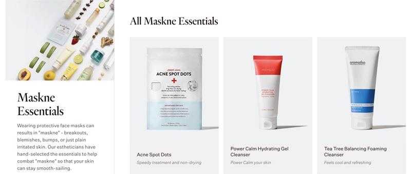Peach&Lilly Maskne Essentials