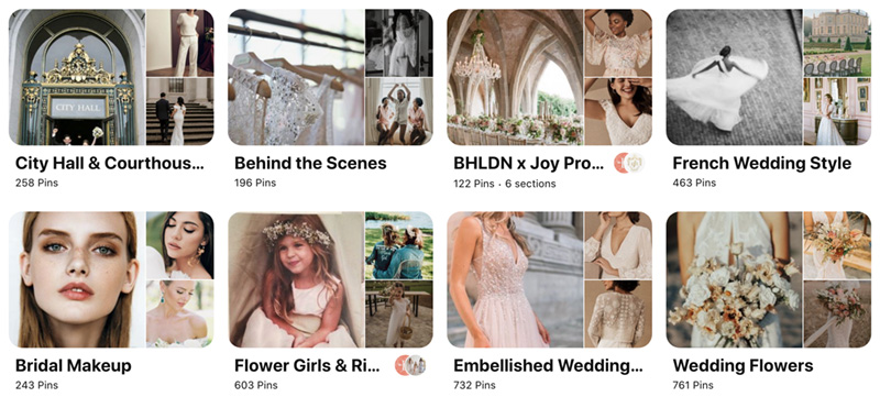 BHLDN Pinterest