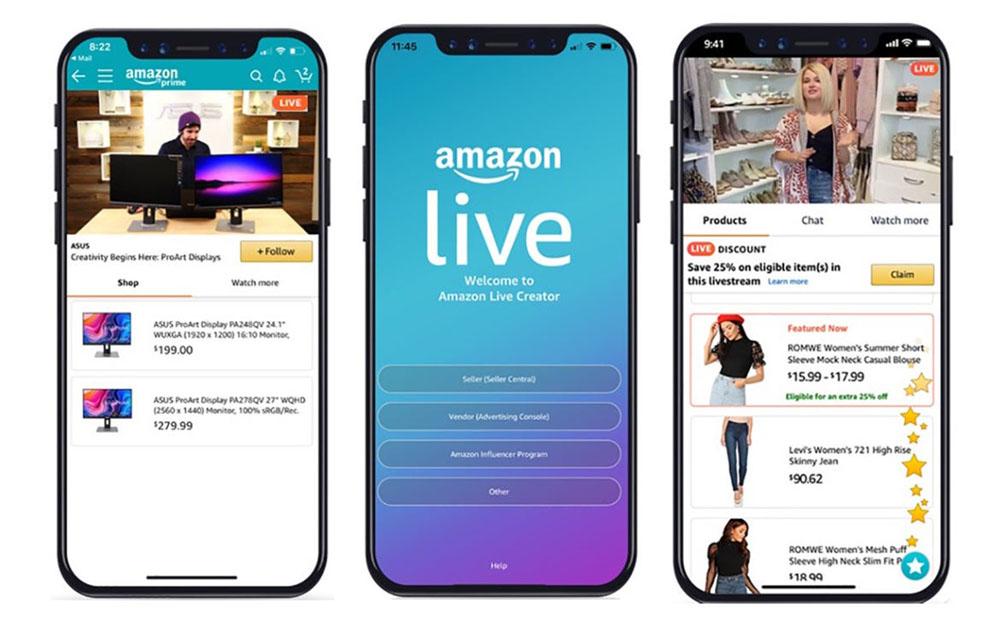 Amazon Live Shopping