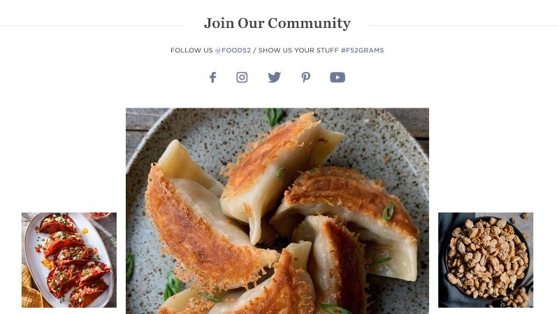 Food52 Brand Community