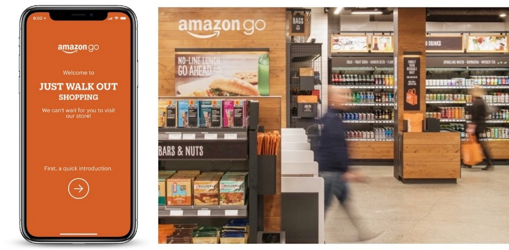 Amazon Go Grocery Physical Stores